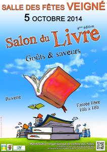 AFFICHE 2014 salon du livre