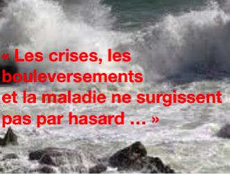 Les crises, les bouleversements, la maladie, et le Hasard selon  Carl Gustav Jung
