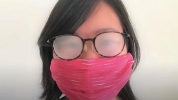 Astuces pour éviter la buée sur les verres des lunettes en cas de port du masque.